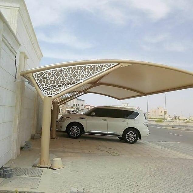 تركيب مظلات السيارات في محافظة الجهراء